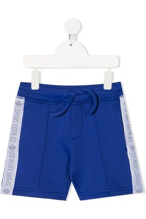 Dsquared2 Kids Sports Edition logo trim casual shorts