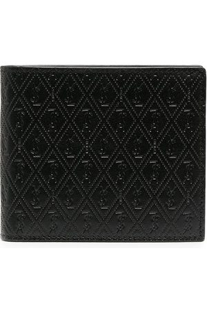 Saint Laurent Perforated leather wallet