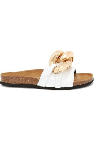 J.W.Anderson Chain Loafer slides