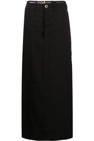 Jacquemus Thong-strap maxi skirt