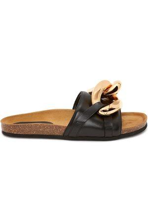 J.W.Anderson Women Sandals - Chain-detail mule sandals