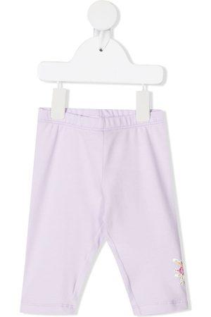 Monnalisa Daisy Duck print leggings