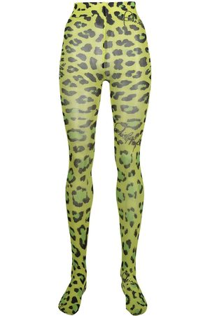 Philipp Plein Leopard print tights
