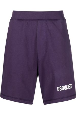 Dsquared2 Men Shorts - Logo-print track shorts
