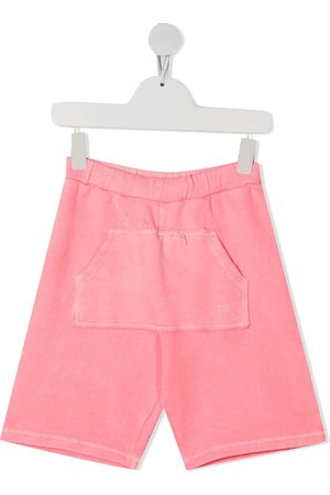 Douuod Kids Patch pocket-detail shorts