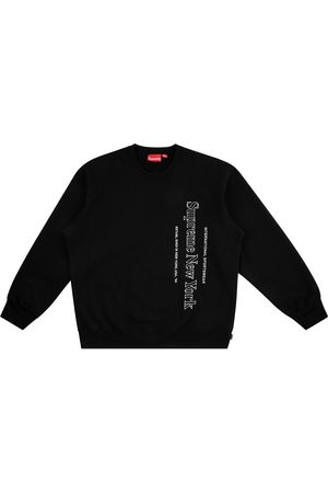 Supreme Side logo crew-neck sweatshirt