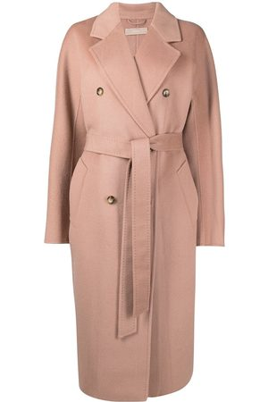 12 STOREEZ Oversized double-breasted wool coat