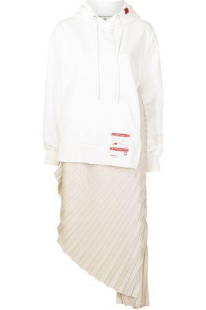 Maison Mihara Yasuhiro Longline deconstructed hoodie