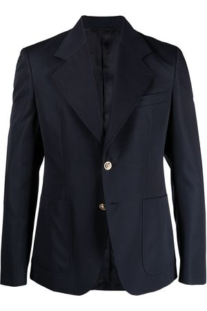Versace Men Blazers - Notched-lapel single-breasted blazer