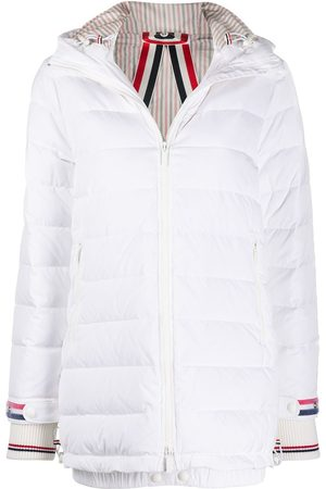 Thom Browne Down-feather hooded coat