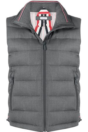 Thom Browne Women Gilets - Padded funnel neck vest