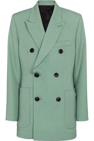 AMI PARIS Women Blazers - Double-breasted wool blazer