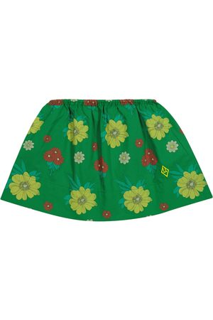 The Animals Observatory Impala floral cotton skirt