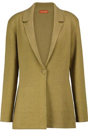 Altuzarra Heather cotton and cashmere-blend jacket