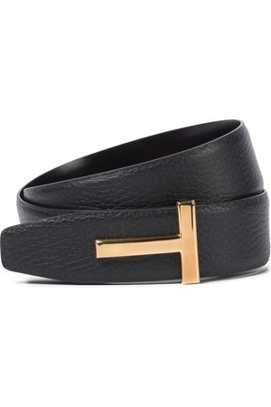 Tom Ford Women Belts - Monogram leather belt