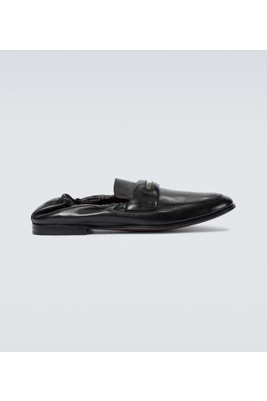 Dolce & Gabbana Flexible leather loafers