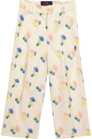 The Animals Observatory Camel printed cotton pants