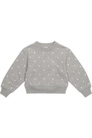 Burberry Kids Girls Sweatshirts - Printed cotton sweatshirt