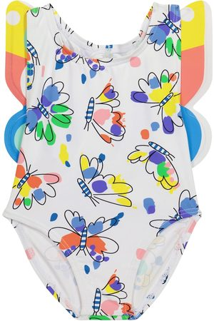 Stella McCartney Kids Baby butterfly swimsuit