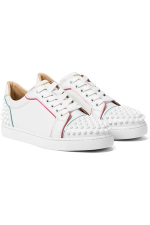 Christian Louboutin Viera Spikes leather sneakers