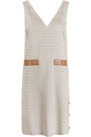 LIU JO Check print dress