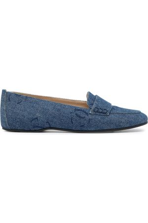 Chanel Pre-Owned 2002 CC denim loafers