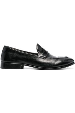Alberto Fasciani Penny-slot leather loafers