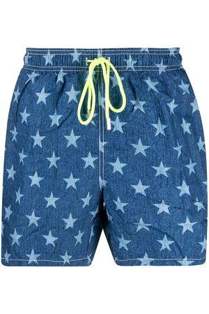 Mc2 Saint Barth Stars-print swim shorts