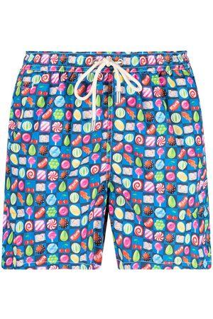 Mc2 Saint Barth Candy-print swim shorts