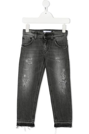 Dondup Kids Ripped skinny-fit jeans