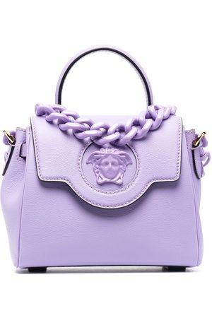 VERSACE Small La Medusa top handle bag