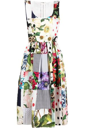 Dolce & Gabbana Patchwork midi dress