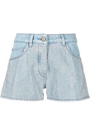 Golden Goose Stud detail denim shorts