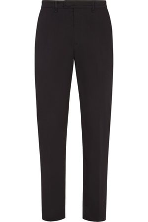 Fendi Men Formal Pants - High-waist tailored trousers
