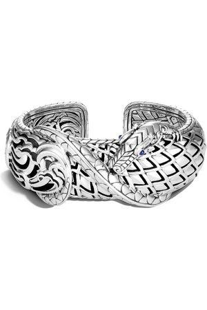 John Hardy Legends Naga medium kick sapphire cuff bracelet