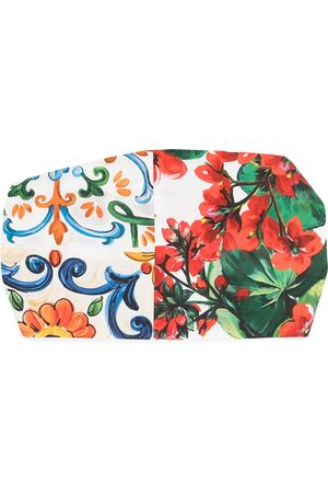 Dolce & Gabbana Kids Majolica floral-print headband