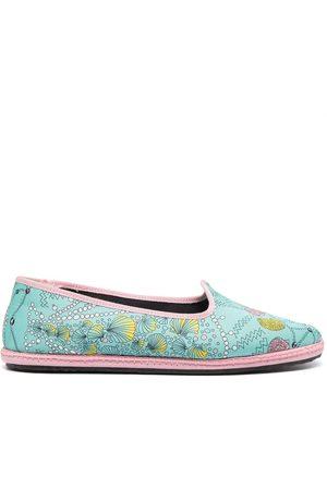 Emilio Pucci Conchiglie ballet slippers