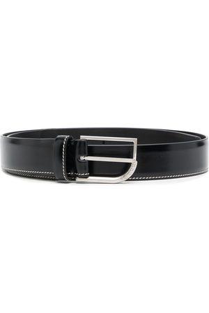 Maison Margiela Contrast-stitch buckle-fastening belt