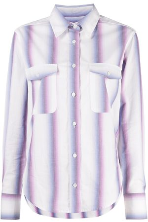 Isabel Marant Étoile Striped long-sleeve shirt