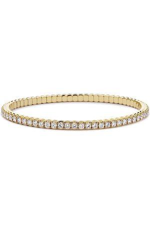 Pragnell 18kt yellow expandable diamond bracelet