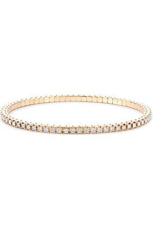 Pragnell Women Bracelets - 18kt rose gold expandable diamond bracelet