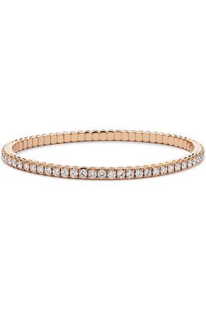 Pragnell 18kt rose gold expandible diamond bracelet