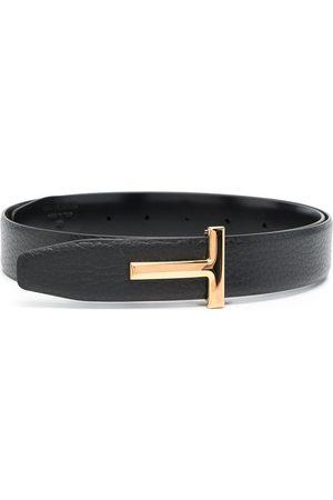 Tom Ford Men Belts - T buckle belt