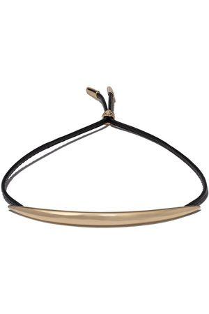 SHAUN LEANE Quill leather bracelet
