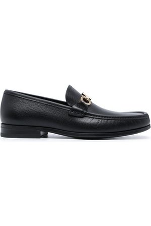 Salvatore Ferragamo Chris Gancini-buckle loafers