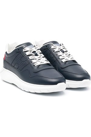 Hogan Chunky sole leather sneakers