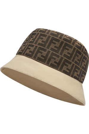 Fendi Men Hats - FF motif bucket hat