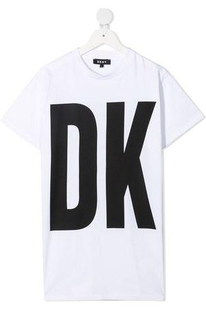 DKNY Logo T-shirt dress