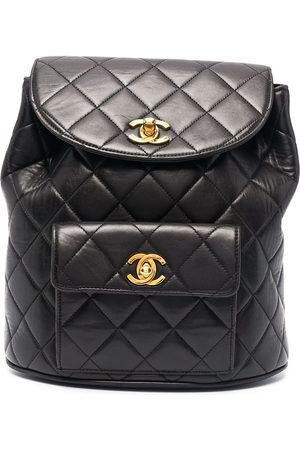 CHANEL 1994-1996 diamond-quilted flap backpack
