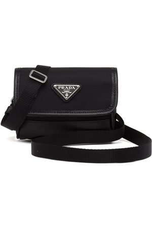 Prada Triangle logo small pouch